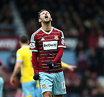 West Ham's Nene looks on dejected<br /> <br /> Barclays Premier League - West Ham United  vs Crystal Palace  - Upton Park - England - 28th February 2015 - Picture David Klein/Sportimage