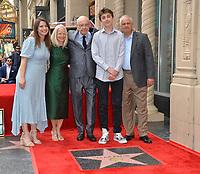 LOS ANGELES, CA. June 07, 2019: Molly Arkin, Suzanne Newlander Arkin, Alan Arkin, Emmet Arkin & Matthew Arkin at the Hollywood Walk of Fame Star Ceremony honoring Alan Arkin.<br /> Pictures: Paul Smith/Featureflash