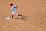 29 April 2017: Washington Nationals first baseman Ryan Zimmerman rounds second after hitting a home run against the New York Mets at Nationals Park in Washington, DC. The Mets defeated the Nationals 5-3 to take the second game of their 3-game weekend series. Mandatory Credit: Ed Wolfstein Photo *** RAW (NEF) Image File Available ***
