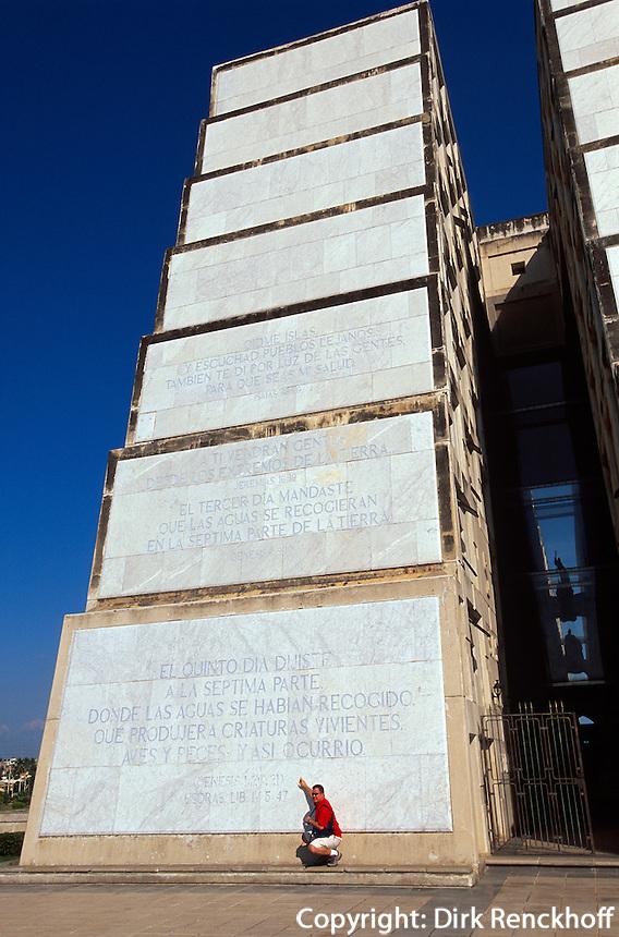 Dominikanische Republik, Faro de Colon mit Grab des Kolumbus in Santo Domingo