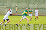 Kerry's Colm Harty and Kildare's Mark Grace.