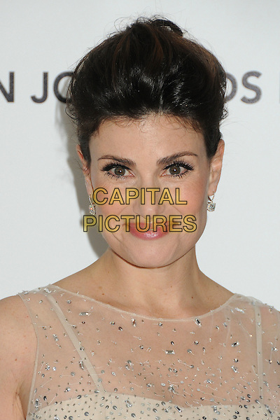 Idina Menzel.20th Annual Elton John Academy Awards Viewing Party held at West Hollywood Park, West Hollywood, California, USA..February 26th, 2012.headshot portrait white silver .CAP/ADM/BP.©Byron Purvis/AdMedia/Capital Pictures.