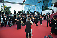 CANNES, FRANCE - MAY 17: People dance and musicians play music on the red carpet during the screening of 'Capharnaum' during the 71st annual Cannes Film Festival at Palais des Festivals on May 17, 2018 in Cannes, France. <br /> <br /> Picture: Kristina Afanasyeva/Featureflash/SilverHub 0208 004 5359 sales@silverhubmedia.com