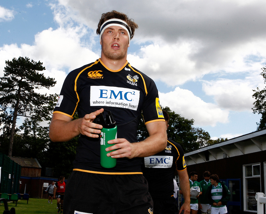 Photo:Richard Lane/ Richard Lane Photography. London Wasps v Treviso Rugby. Pre Season Friendly. 27/08/2011. Wasps' James Cannon.