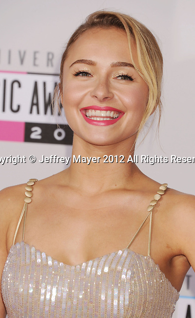 LOS ANGELES, CA - NOVEMBER 18: Hayden Panettiere attends the 40th Anniversary American Music Awards held at Nokia Theatre L.A. Live on November 18, 2012 in Los Angeles, California.