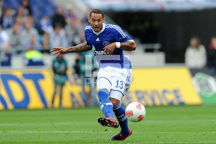 Football: Germany, 1. Bundesliga.FC Schalke 04.Jermaine Jones.?Ǭ© pixathlon