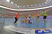 Tag des Handball, Rhein-Neckar Löwen vs. Hamburger SV, Commerzbank Arena