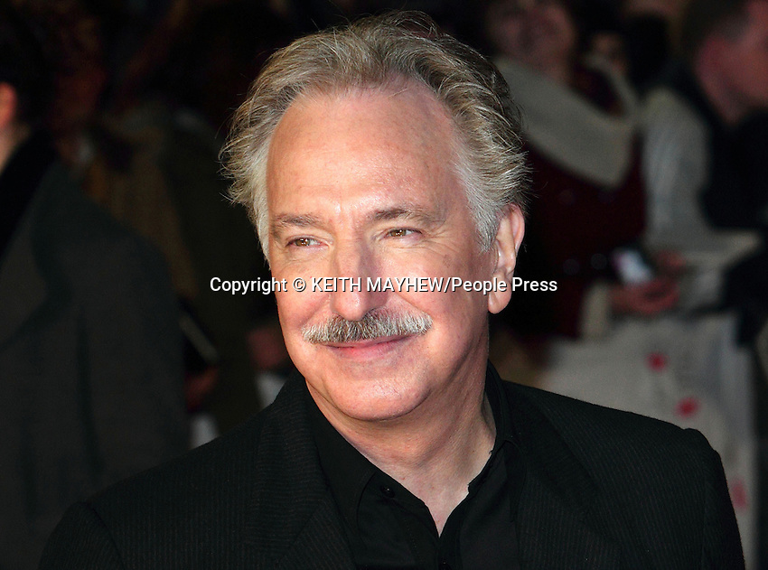 London - Alan Rickman World Premiere of 'Gambit' at the Empire, Leicester Square, London - November 7th 2012..Photo by Keith Mayhew