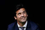 Manager Santiago Hernan Solari of Real Madrid is seen prior to the La Liga 2018-19 match between Real Madrid and Real Valladolid at Estadio Santiago Bernabeu on November 03 2018 in Madrid, Spain. Photo by Diego Souto / Power Sport Images