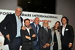 XIV Sopar Solidari de Nadal.<br /> Esport Solidari Internacional-ESI.<br /> Fernando Romay, Antonio David Flores, Labi Champion, Josep Maldonado, Rocio Caso &amp; Poty.