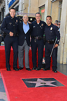 Jeffrey Tambor and LAPD Officials at the Hollywood Walk of Fame Star Ceremony honoring actor Jeffrey Tambor. Los Angeles, USA 08 Aug. 2017<br /> Picture: Paul Smith/Featureflash/SilverHub 0208 004 5359 sales@silverhubmedia.com