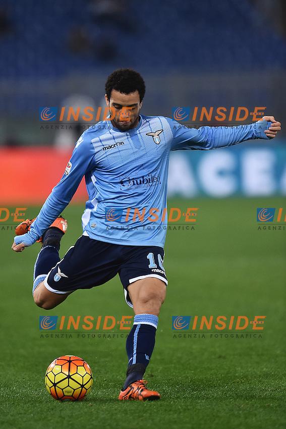 Felipe Anderson Lazio <br /> Roma 04-12-2015 Stadio Olimpico Football Calcio 2015/2016 Serie A Lazio - Juventus Foto Andrea Staccioli / Insidefoto