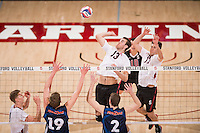 Stanford, CA, March 12, 2016.Stanford Men's Volleyball vs. Pepperdine in Maples Pavilion. Stanford lost 3-2.