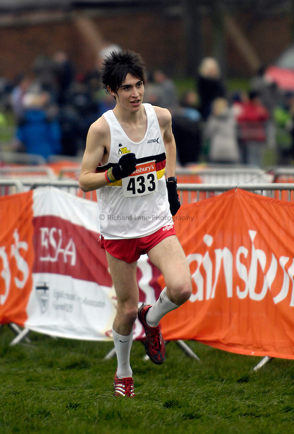 Photo: Jed Wee/Richard Lane Photography..Sainsbury's English Schools Cross Country. 24/03/2007...Senior boys gold medalist Mitch Goose.