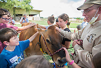 Campers learn about dairy production through the Fun with Food Summer Camp. June 20-24, 2016.<br />