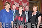 GAA: Enjoying the Ballyduff GAA Victory social in Ballyroe Heights Hotel, Tralee on Satuday night. L-r: Helen Boyle, Tom and Evelyn Houlihan, Liam Boyle and Kay O'Carroll.