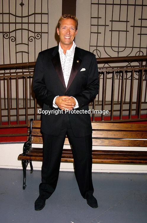 Walt Willey..at ABC Casino Night on October 7, 2004 at The Lighthouse..at Chelsea Piers. ..Photo by Robin Platzer, Twin Images