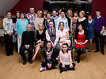 Andy O' Brien with family and friends in the Thatch for his 30th..Picture: Shane Maguire / www.newsfile.ie..