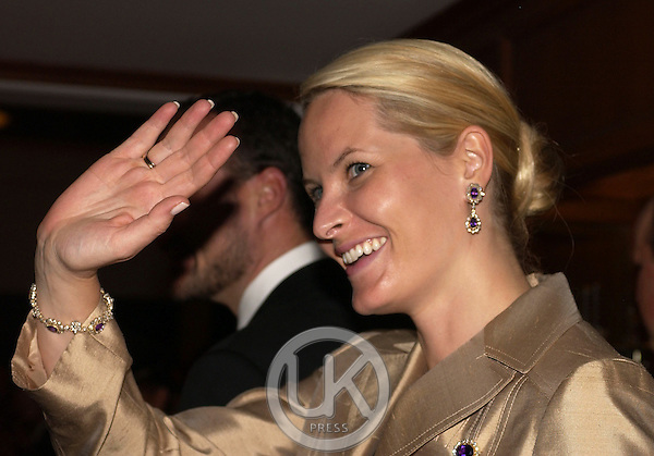 Crown Prince Haakon & Crown Princess Mette-Marit of Norway's visit to Thailand..Dinner at the Sofitel Central Hua Hin Resort, hosted by HRH Princess Maha Chakri Sirindhorn..