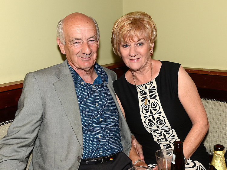Matt Kavanagh and Margaret Dennis at Seapoint Golf  Captains prizegiving in Tommy Hannratty's Bar & Lounge. Photo:Colin Bell/pressphotos.ie