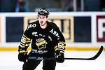 Stockholm 2014-09-27 Ishockey Hockeyallsvenskan AIK - Mora IK :  <br /> AIK:s Victor Ekarv <br /> (Foto: Kenta J&ouml;nsson) Nyckelord:  AIK Gnaget Hockeyallsvenskan Allsvenskan Hovet Johanneshovs Isstadion Mora MIK portr&auml;tt portrait