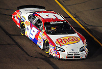 Apr 11, 2008; Avondale, AZ, USA; NASCAR Nationwide Series driver Chase Miller during the Bashas Supermarkets 200 at the Phoenix International Raceway. Mandatory Credit: Mark J. Rebilas-