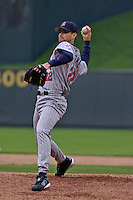 Minnesota Twins RHP Brad Radke starts against the Royals at Kauffman Stadium in Kansas City, Missouri on April 24, 2003. The Royals won 2-1.