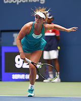 FLUSHING NY- SEPTEMBER 02: CoCo Vandeweghe Vs Agnieszka Radwanska on Arthur Ashe Stadium during the 2017 US Open at the USTA Billie Jean King National Tennis Center on September 2, 2017 in Flushing Queens. Credit: mpi04/MediaPunch ***NO NY DAILY NEWS***