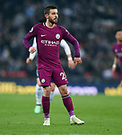 Bernardo Silva of Manchester City during the premier league match at the Wembley Stadium, London. Picture date 14th April 2018. Picture credit should read: Robin Parker/Sportimage
