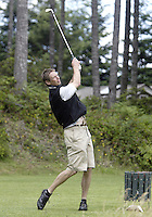 25 June, 2007: Detlef Schrempf  drives his ball down the fairway during the 14th annual Detlef Schrempf Celebrity Golf Classic at McCormick Woods golf course in Port Orchard, Washington.