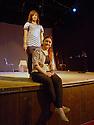Iraq 2014<br />Theater in Duhok:sitting Khozik Nalbandi, director and Dilman Idris, the actor in a play of Eugene O&rsquo;Neil<br />Irak 2014<br />Dans un theatre de Dohok, une actrice et son metteur en scene pr&eacute;parant une piece de Eugene O&rsquo;Neil