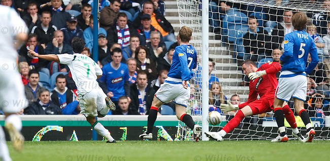 Allan McGregor saves from Zemmama