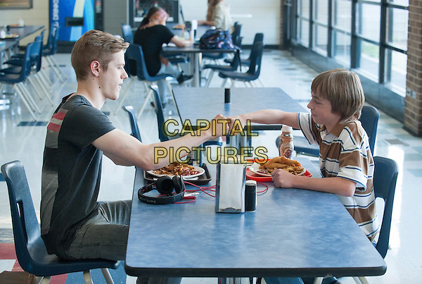 Lucas Till, Jae Head<br /> in Bravetown (2015) <br /> (Strings)<br /> *Filmstill - Editorial Use Only*<br /> CAP/FB<br /> Image supplied by Capital Pictures