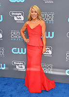 Lori Greiner at the 23rd Annual Critics' Choice Awards at Barker Hangar, Santa Monica, USA 11 Jan. 2018<br /> Picture: Paul Smith/Featureflash/SilverHub 0208 004 5359 sales@silverhubmedia.com