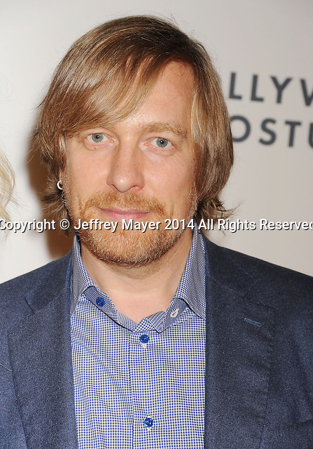 LOS ANGELES, CA- OCTOBER 01: Director Morten Tyldum attends The Academy of Motion Picture Arts and Sciences' Hollywood Costume Opening Party at the Wilshire May Company Building on October 1, 2014 in Los Angeles, California.
