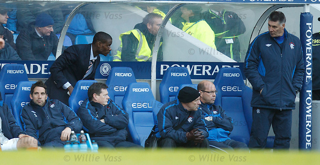 Maurice Edu back on the bench after treatment