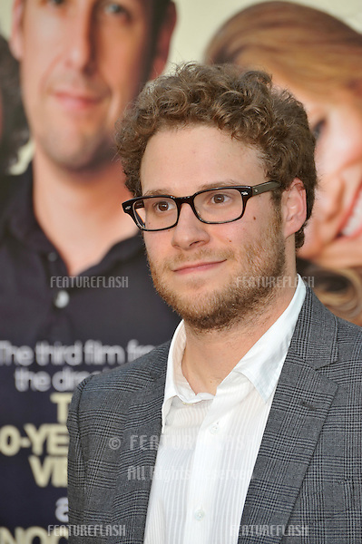 "Seth Rogen at the world premiere of his new movie ""Funny People"" at the Arclight Theatre, Hollywood..July 20, 2009  Los Angeles, CA.Picture: Paul Smith / Featureflash"
