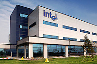 Research centre of Intel factory in Chengdu, China. Intel plans to construct a second factory in Chengdu. Expected to begin operating in 2007, the new facility will handle assembly and test of Intel's most advanced microprocessors..