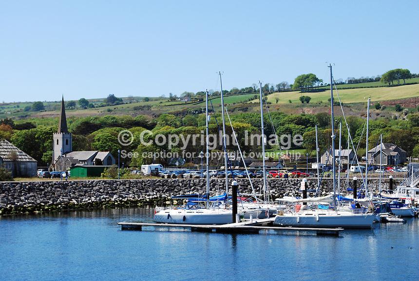 Harbour, marina, Glenarm, Co Antrim, N Ireland, UK, 201205265877..© Victor Patterson, 54 Dorchester Park, Belfast, N Ireland. Tel: +44 2890661296; Mobile: +44 7802 353836; Emails: victorpatterson@me.com & victorpatterson@gmail.com; www.victorpatterson.com