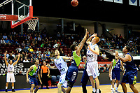 GRONINGEN - Basketbal, Donar - ZZ Leiden, Supersup, seizoen 2018-2019, 06-10-2018,  score van Donar speler Jobi Wall