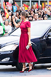 Queen Letizia of Spain arrives to Teatro Campoamor for Princess of Asturias Awards 2019 in Oviedo. October 18, 2019 (Alterphotos/ Francis Gonzalez)