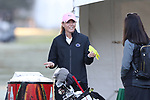 WILMINGTON, NC - OCTOBER 27: Penn State head coach Denise St. Pierre. The first round of the Landfall Tradition Women's Golf Tournament was held on October 27, 2017 at the Pete Dye Course at the Country Club of Landfall in Wilmington, NC.