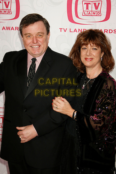 JERRY MATHERS & GUEST.Attending the 5th Annual TV Land Awards - Arrivals,.held at Barker Hangar, Santa Monica, California, .USA, 14 April, 2007..half length .CAP/ADM/RE.©Russ Elliot/AdMedia/Capital Pictures.