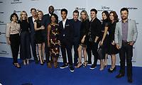 "21 May 2017 - Burbank, California - Cast of ""Runaways"". ABC Studios and Freeform International Upfronts held at The Walt Disney Studios Lot in Burbank. Photo Credit: Birdie Thompson/AdMedia"