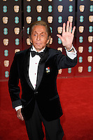 Valentino at the 2017 EE British Academy Film Awards (BAFTA) held at The Royal Albert Hall, London, UK. <br /> 12 February  2017<br /> Picture: Steve Vas/Featureflash/SilverHub 0208 004 5359 sales@silverhubmedia.com
