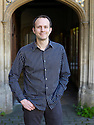 Tim Harford,Financial Times Undercover Economist and  writer  at The Oxford Literary Festival at Christchurch College Oxford  . Credit Geraint Lewis