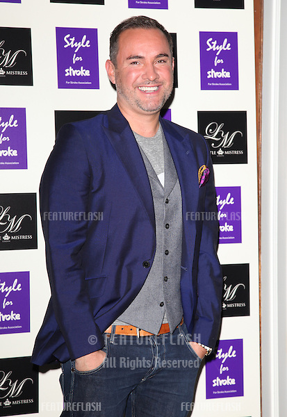 Nick Ede arriving for the Style for Stroke Party, 5 Cavendish Square, London. 02/10/2012 Picture by: Alexandra Glen / Featureflash