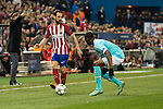 Atletico de Madrid's Juanfran Torres and PSV Eindhoven's Jetro Willems during UEFA Champions League match. March 15,2016. (ALTERPHOTOS/Borja B.Hojas)
