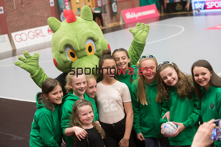 Vitality Super League<br /> Celtic Dragons v Sirens<br /> 10.04.17<br /> ©Steve Pope-Sportingwales
