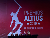 BOGOTÁ-COLOMBIA, 03-12-2018: Ceremonia de premiación del Deportista Altius del Año del Comité Olímpico Colombiano (COC), en el Hotel Grand Hyatt, en la ciudad de Bogotá. / The award ceremony of the Altius Sportsman of the Year of the Colombian Olympic Committee (COC) was held in the Grand Hyatt Hotel in the city of Bogota. Photos: VizzorImage /Luis Ramírez / Staff.